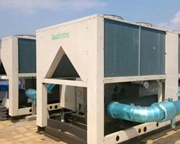 2Units 150Ton Air Cooled Chiller In Saudi Arabia