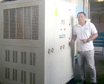 40TR (150KW) Air Cooled Hhiller In Philippines