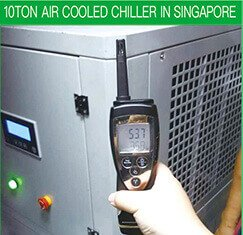 10TON AIR COOLED CHILLER IN SINGAPORE