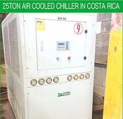 25TON AIR COOLED CHILLER IN COSTA RICA