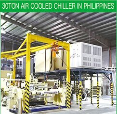 30TON AIR COOLED CHILLER IN PHILIPPINES