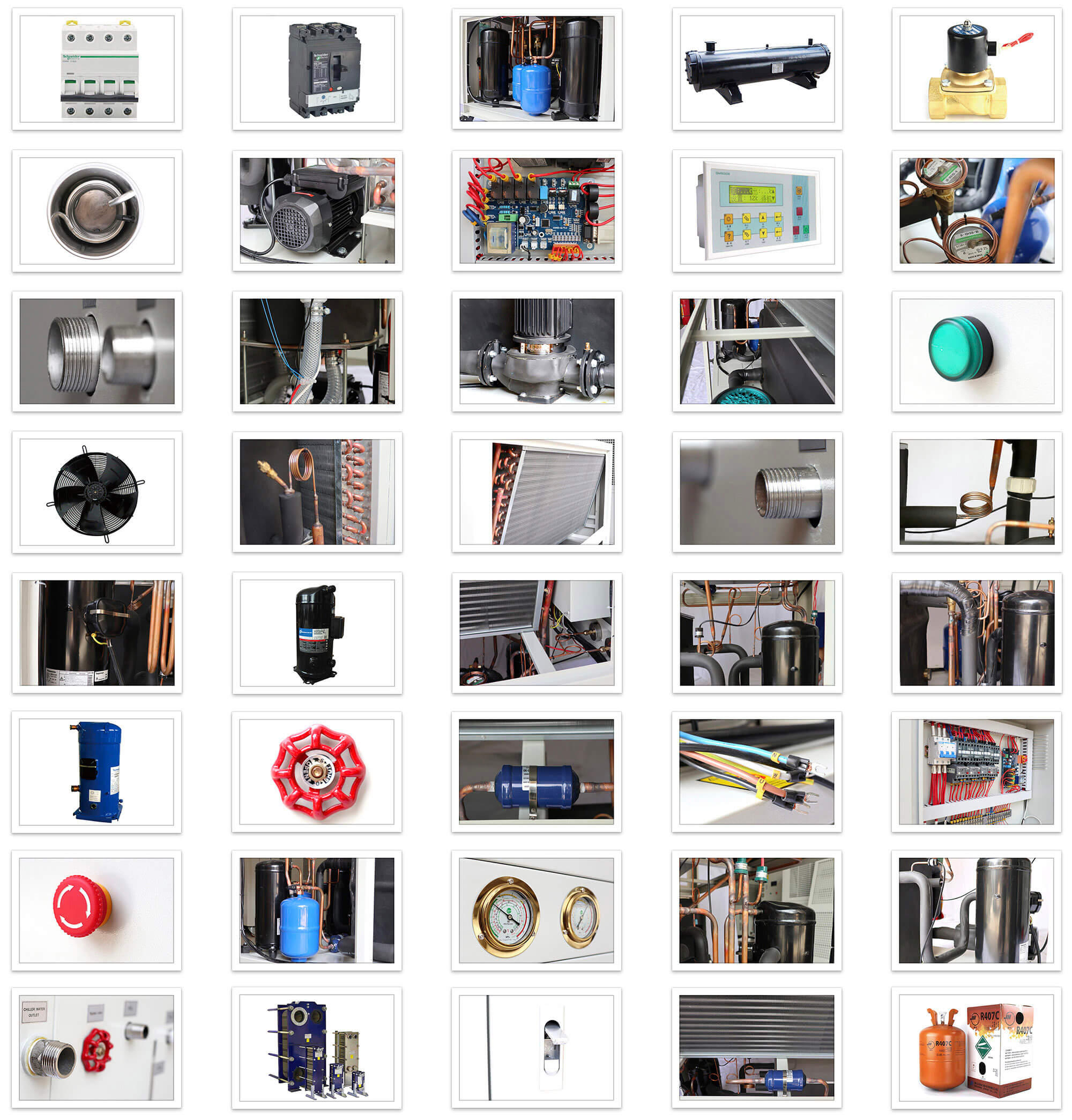 Air Chiller spare parts