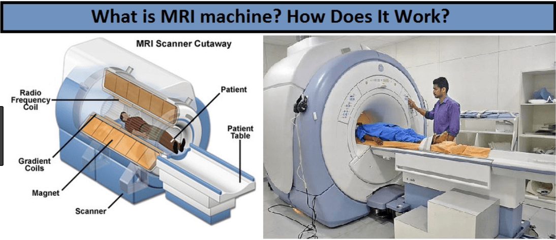 MRI MACHINE WORKING