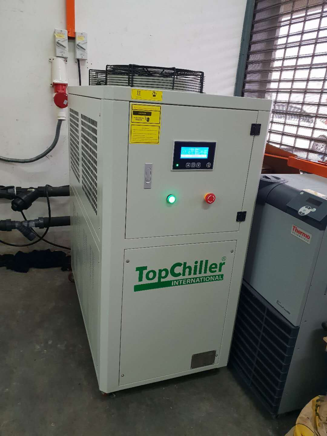 Air Chiller Installation