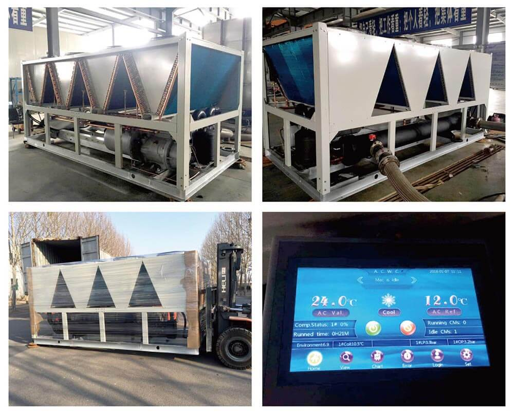 150Ton air cooled screw chiller