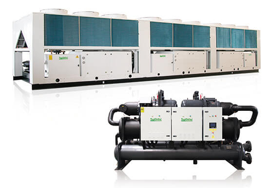 Air Cooled Screw Chiller VS Water Cooled Screw Chiller