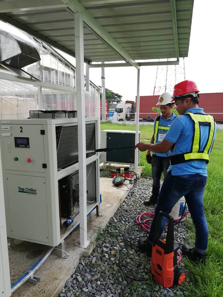 Plastic Chiller Maintenance
