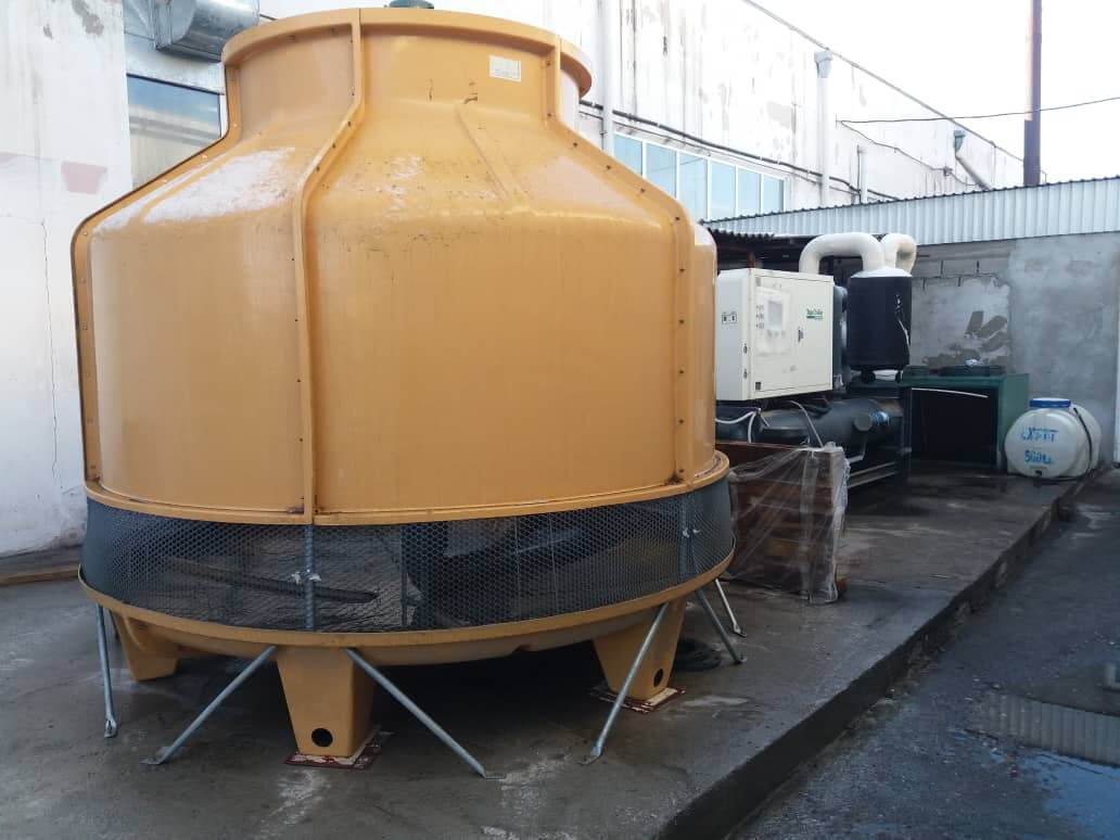 water chiller cooling tower