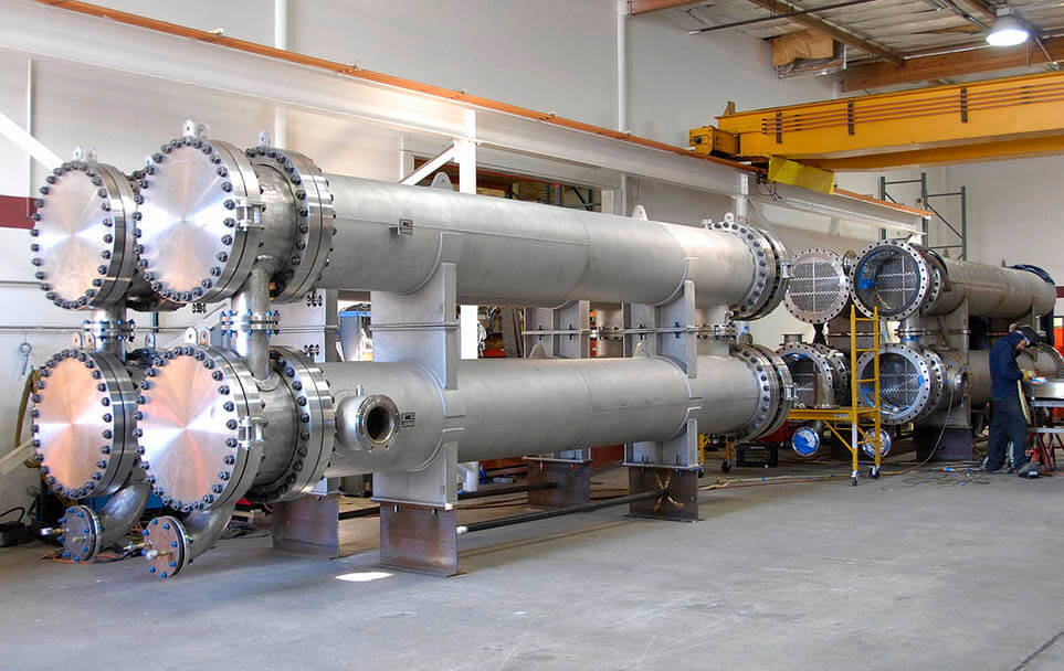 Please check belowtitanium material shell and tube heat exchanger