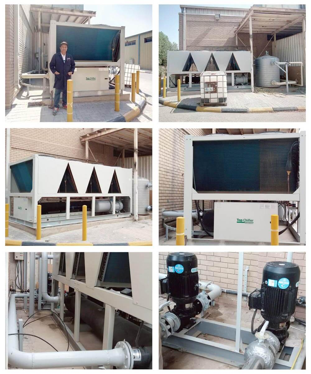 120Ton Industrial Air Chillers for the Food & Beverage Industry