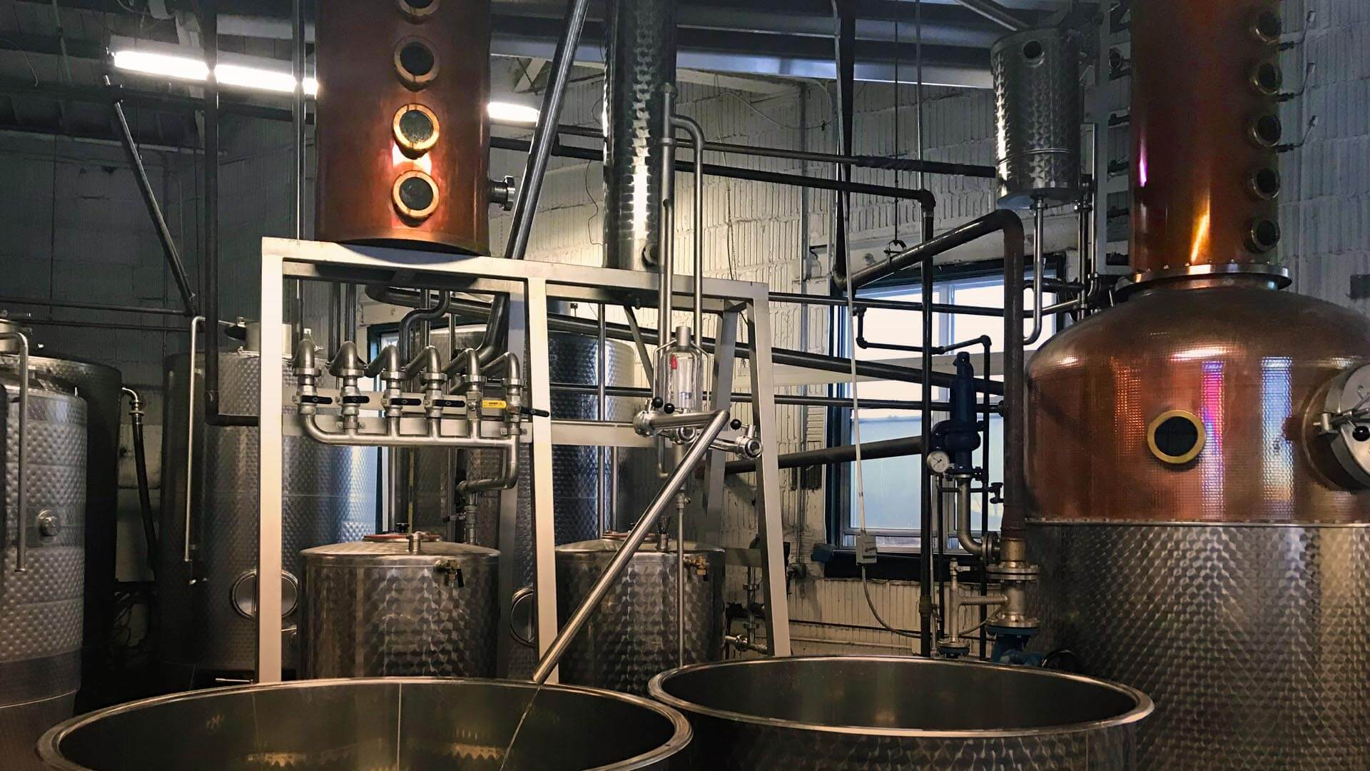 Glycol Chiller for Distilleries