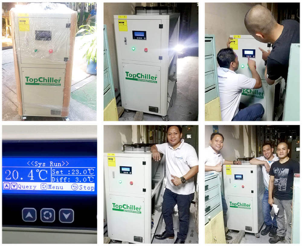 Process Chiller from TopChiller