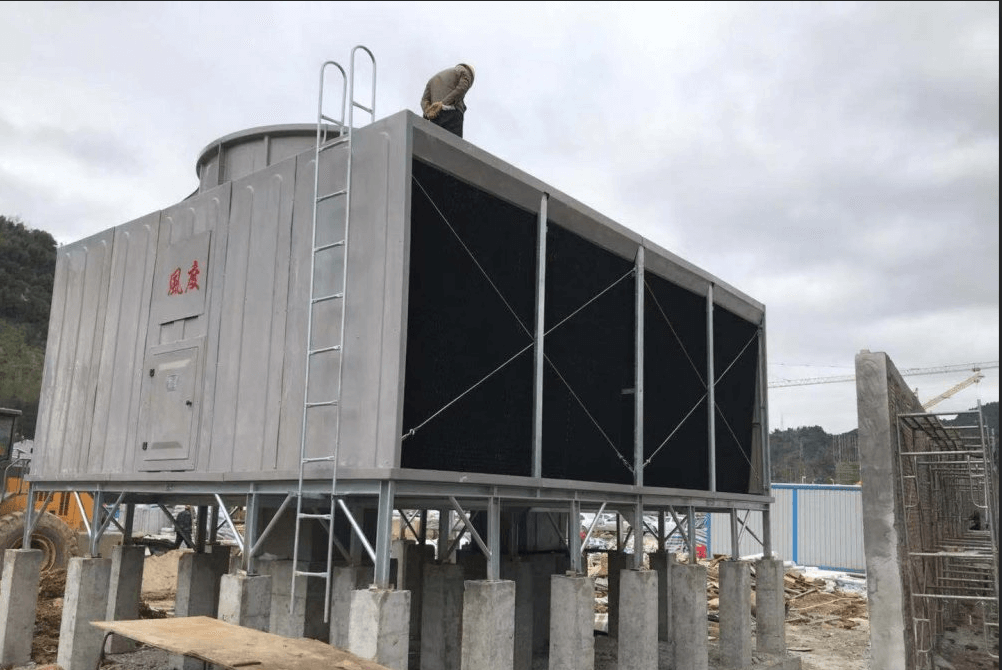 crossflow square cooling tower