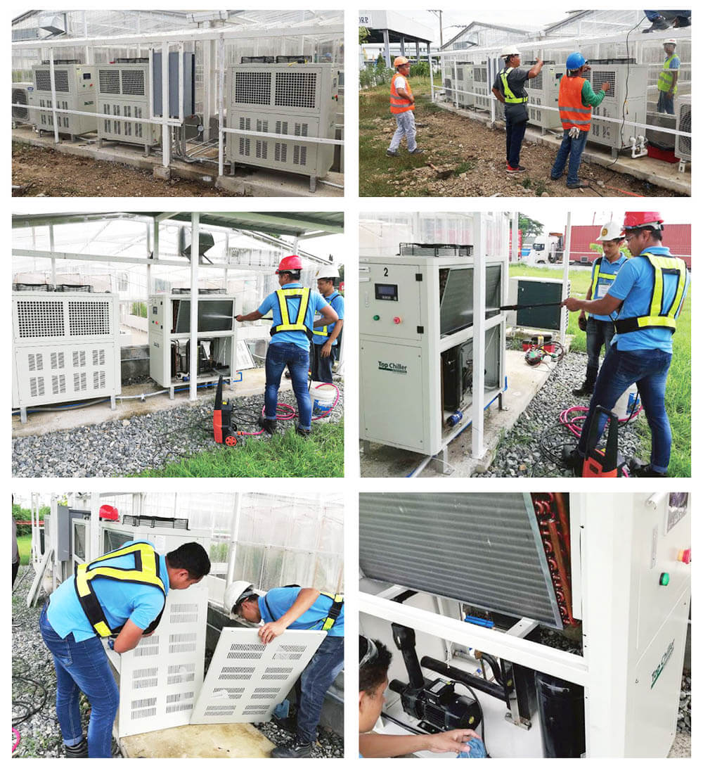 Water Chiller Installatioin and Maintenance