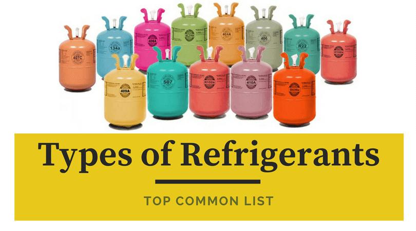 Types-of-Refrigerants