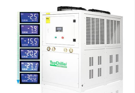 Low temperature chiller